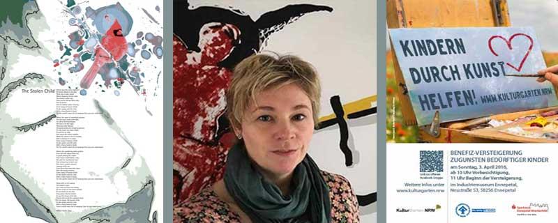 Dorit Breyer - Ihre Werke für die Benefiz-Veranstaltung Collage: Linde Arndt