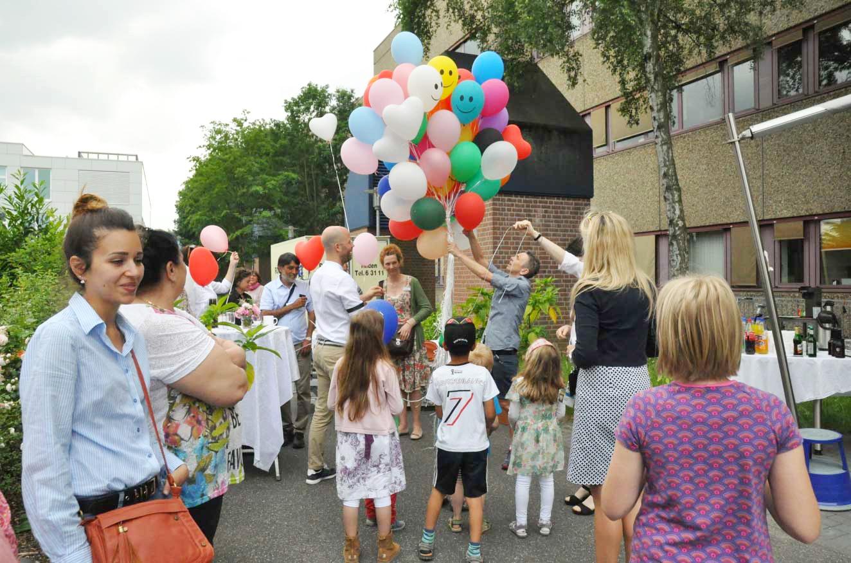 Fünfjahresfeier des Palliativzentrums Düsseldorf foto: Linde Arndt