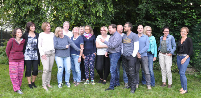 EhrenamtlerInnen des Ambulanten Kinder- und Jugendhospizdienstes Emmaus Foto: (c) Linde Arndt